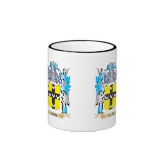 Ellis Coat of Arms - Family Crest Ringer Coffee Mug