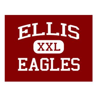 Ellis - Eagles - Middle School - Elgin Illinois Postcard