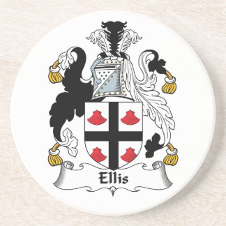 Ellis Family Crest Coaster