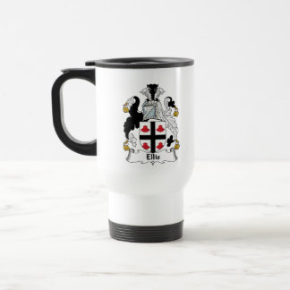 Ellis Family Crest Coffee Mugs