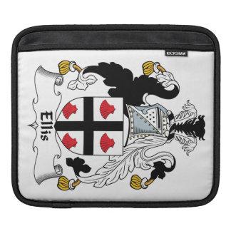 Ellis Family Crest iPad Sleeves