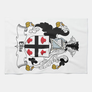 Ellis Family Crest Kitchen Towel