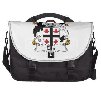 Ellis Family Crest Laptop Commuter Bag