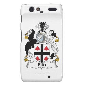 Ellis Family Crest Motorola Droid RAZR Cover