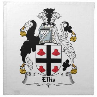 Ellis Family Crest Napkins