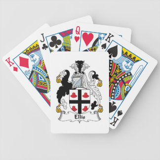 Ellis Family Crest Playing Cards