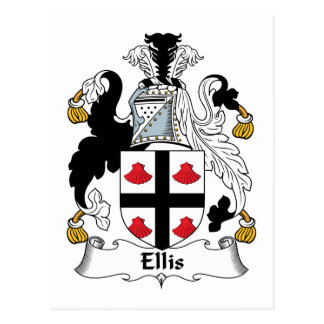 Ellis Family Crest Postcards