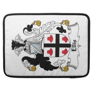 Ellis Family Crest Sleeves For MacBooks