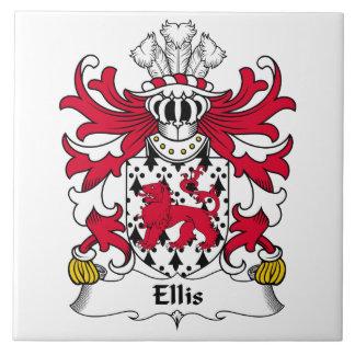 Ellis Family Crest Tile