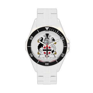 Ellis Family Crest Wrist Watch