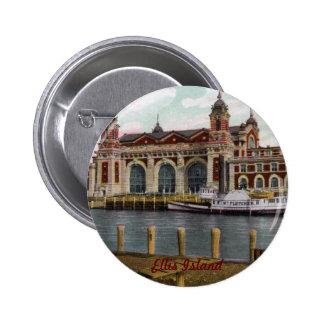 Ellis Island Button