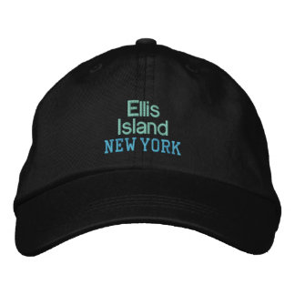 ELLIS ISLAND cap