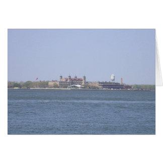 Ellis Island Card