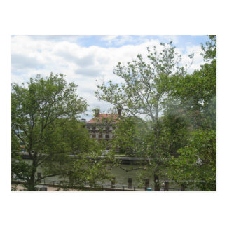 Ellis Island Dorms Postcards