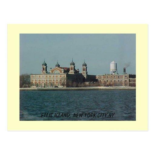 ELLIS ISLAND, ELLIS ISLAND, NEW YORK CITY,NY POSTCARD