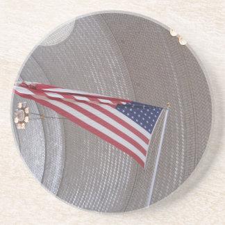Ellis Island Flag Coasters