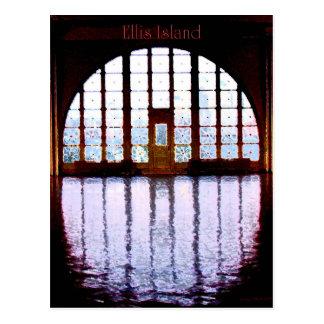 Ellis Island I Postcard