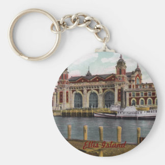 Ellis Island Keychain
