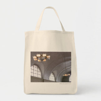 Ellis Island Lighting Tote Bag
