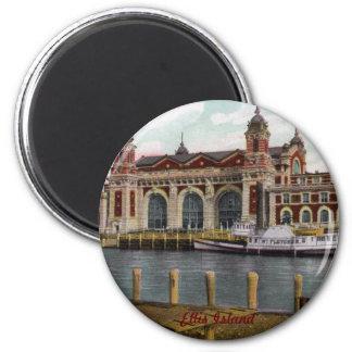 Ellis Island Magnet