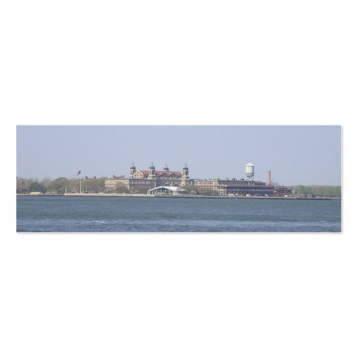 Ellis Island-NYC Bookmark Business Card Template
