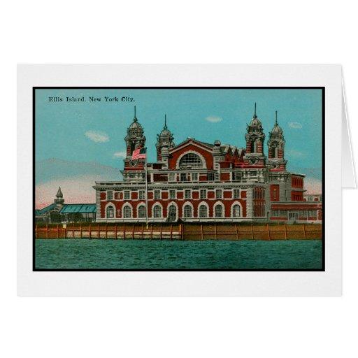 Ellis Island, NYC Greeting Card