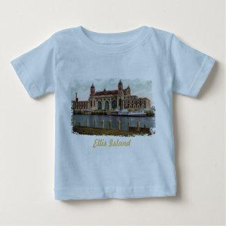 Ellis Island Painted Baby Shirt