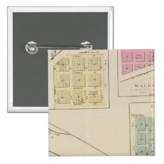 Ellis, Victoria, caminante, Herzog, Oakley, Kansas Pin Cuadrada 5 Cm
