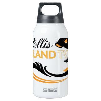 EllisIsland Merch 10 Oz Insulated SIGG Thermos Water Bottle