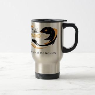 EllisIsland Merch 15 Oz Stainless Steel Travel Mug