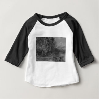 Ellisland Farm and River Nith Baby T-Shirt