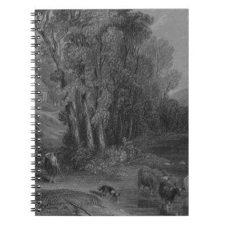 Ellisland Farm and River Nith Spiral Notebook