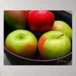 ellos manzanas poster