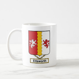 Ellsworth Family Crest Coffee Mugs