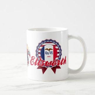 Ellsworth, IA Coffee Mugs
