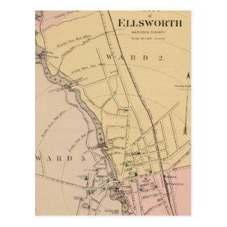 Ellsworth, Maine Postcard