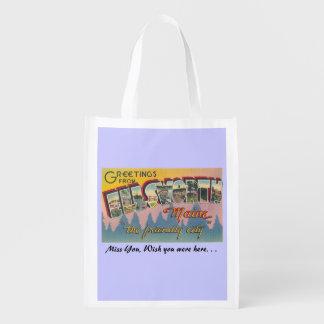 Ellsworth, Maine Grocery Bags