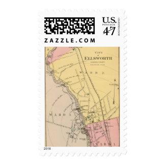 Ellsworth Timbre Postal