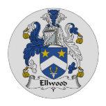 Ellwood Family Crest Poker Chips