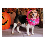 Elly - Beagle - Lucier Greeting Card