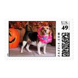 Elly - Beagle - Lucier Postage Stamps