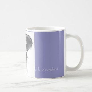 Elly the elephant. coffee mug
