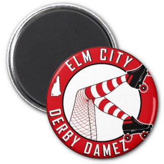 Elm City Derby Damez Magnetz Magnet