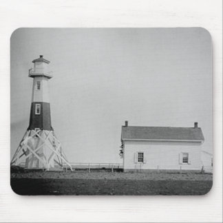 Elm Tree Beacon Lighthouse Mouse Pad