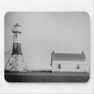 Elm Tree Beacon Lighthouse Mousepads