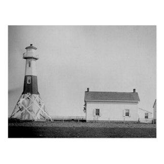 Elm Tree Beacon Lighthouse Postcard