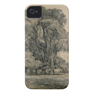 Elm trees in Old Hall Park, East Bergholt, 1817 (p iPhone 4 Case-Mate Case