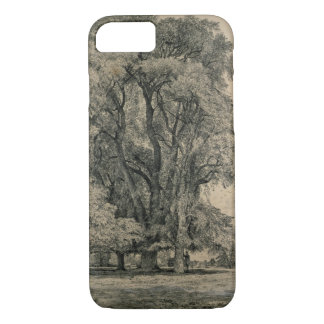 Elm trees in Old Hall Park, East Bergholt, 1817 (p iPhone 8/7 Case