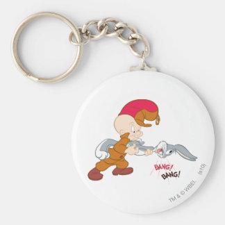Elmer Fudd and BUGS BUNNY™ Key Chains
