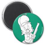 Elmer Fudd Hunting 2 Inch Round Magnet
